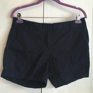 3/$20 J CREW Chino shorts size 6